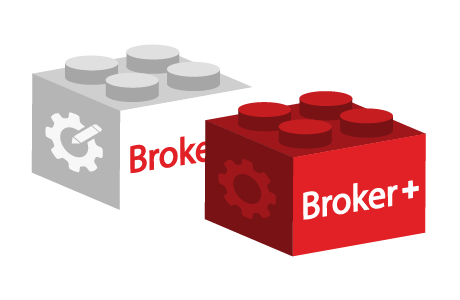 "Ease of deployment with ""Broker+"" plugin and module"
